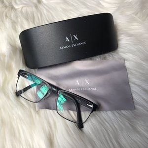 A/X Armani Exchange | 1019 Eyeglasses Matte Black